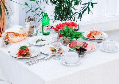 Здравница отличается большим разнообразием блюд