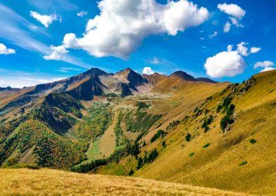 Вид на горы в Архызе
