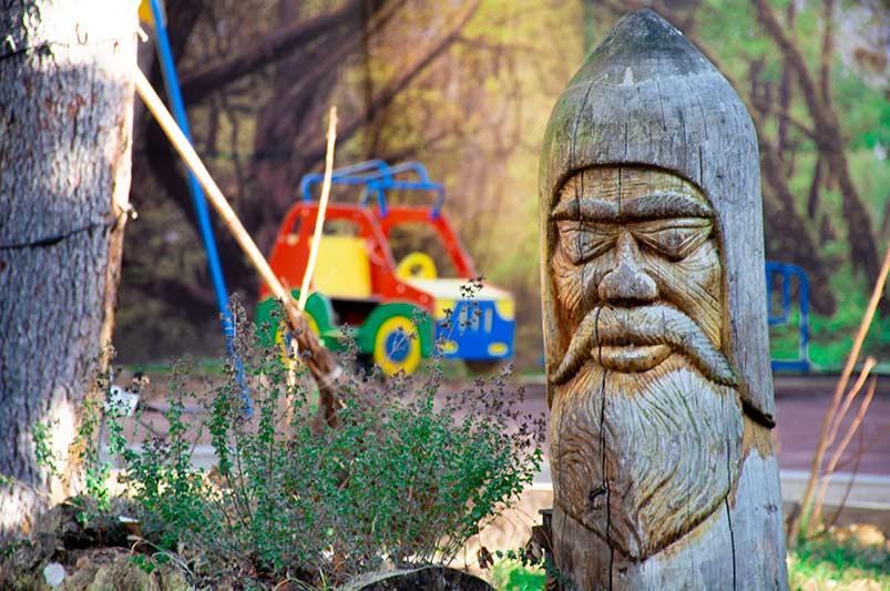 Детская площадка санатория Радуга