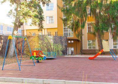 Детская площадка здравницы