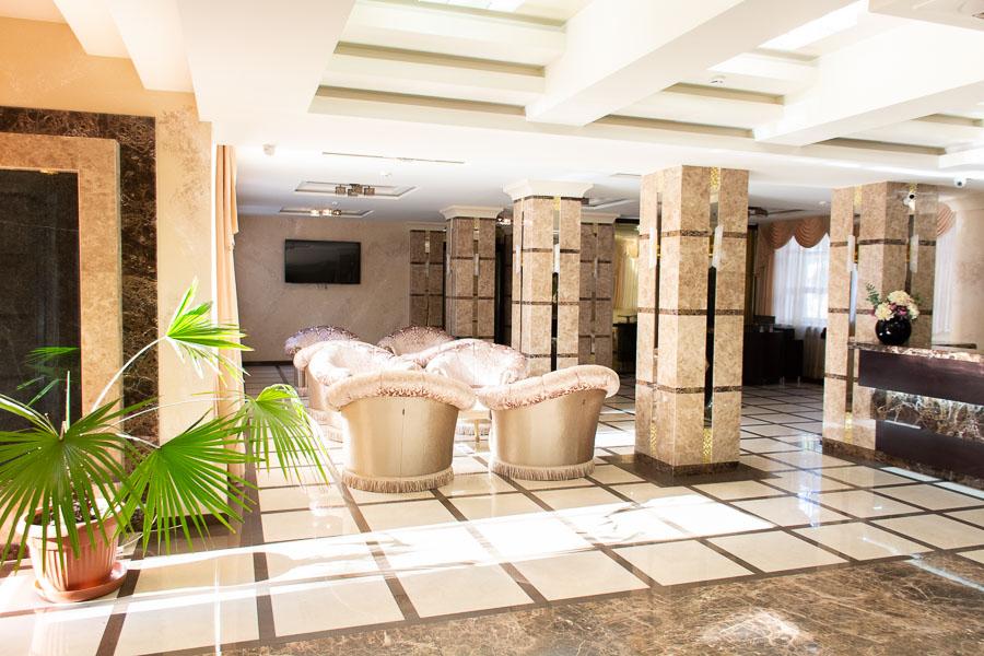 Фотография главного холла санатория Радуга