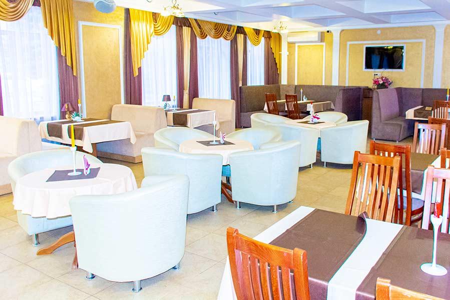 Кафе в санатории Радуга